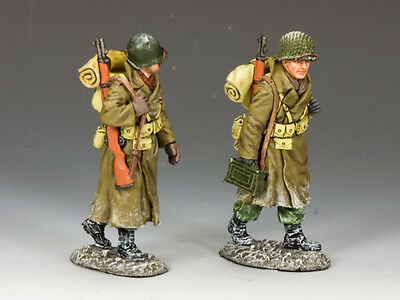 KING AND COUNTRY WW2 Winter March Painted Diecast Metal BBA046 BBA46