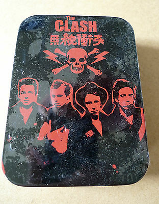 THE CLASH Playing Cards Set in Tin NEW & SEALED