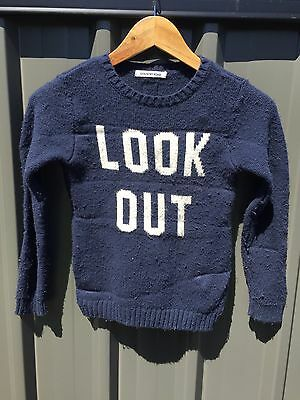 Country Road Boys Navy Knit Jumper