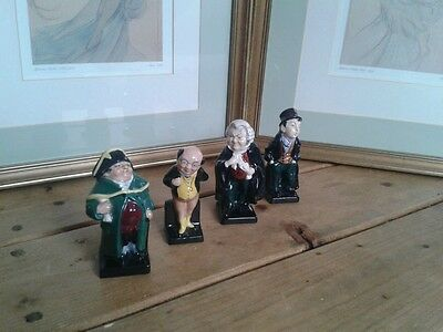 ROYAL DOULTON  Dickens Miniature Character  Figures