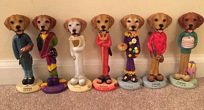 The Animal Connection-Doogie Figurine Bobbleheads Lot Of 7!