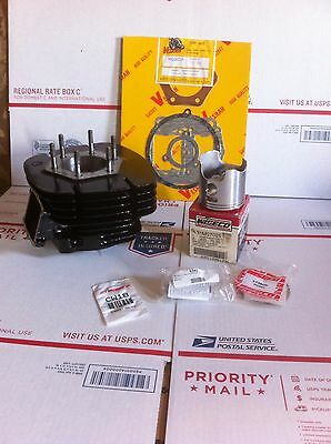 Honda ATC 250R Top End Rebuild Kit Complete Cylinder and Wiseco Piston No Core!