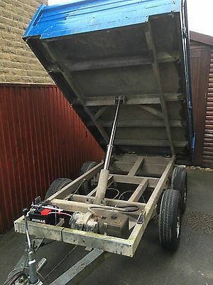 tipping trailer