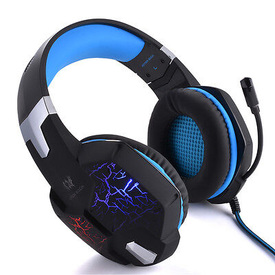 USB Stereo Surround PC Computer Gaming Headset Headphone Headband with Mic TH587