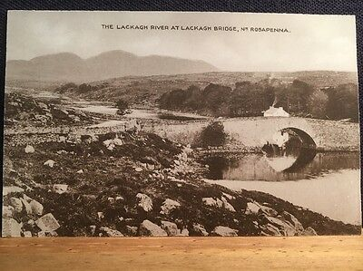 Postcard Of The Lackagh River Nr Rosapenna