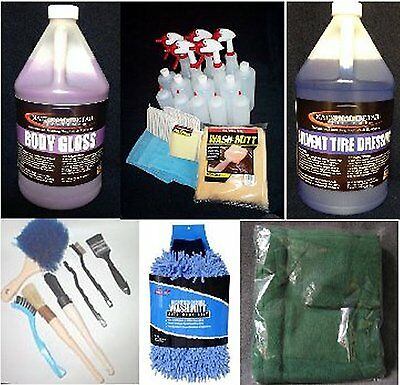 Do it Yourself Detailing Kit.  Professional Detailing Products for Personal Use