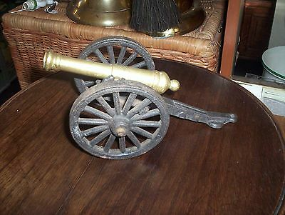 Brass Cannon Model-American War of Independence.