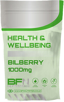 Bilberry Extract 1000mg - 120 Capsules - IMPROVES VISION