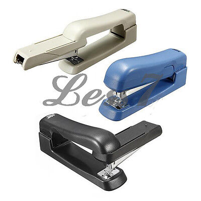 Useful Swivel Booklet Stapler Multi-angle Rotation Student School Office 3Colo タ