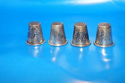 Hallmarked Sterling Silver Thimble