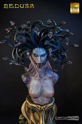 Medusa Life Size Bust by Cinemaquette Free UK EU Shipping - Flex Pay
