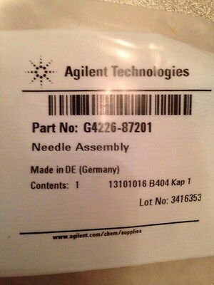 New Agilent G4226-87201 Needle assembly, 1290/1260 Infinity LC autosampler