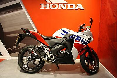2016 Honda CBR125R Tri-Colour