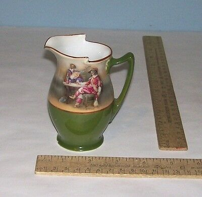 ROYAL BAYREUTH CREAMER or CREAM PITCHER - Musicians - chipped