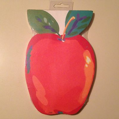 VINTAGE Apple Shaped Pads - 45 Sheets - 1994 Gibson Greetings - RARE