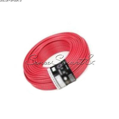 UL-1007 24AWG Hook-up Wire 80°C / 300V 10M Cord Hook-up DIY Electrical Red