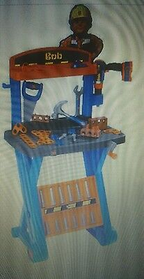 bob the builder 1st workbench new boxed with over 30 tools and accessories