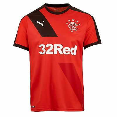 Adults Small Glasgow Rangers Away Shirt 2015/16 M4