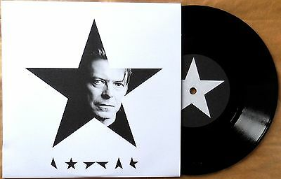 "Details about  DAVID BOWIE - BLACKSTAR PT.1 / PT.2 VERY RARE 7"" ONLY 30 NUMBERE"