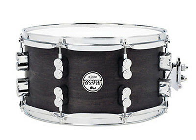 PDP Concept Maple Snare Drum Black Wax w/Chrome 7X13 PDSN0713BWCR
