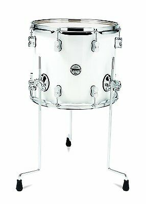 PDP Concept Maple Floor Tom Drum PDCM1618TTPW Pearlescent White 16x18