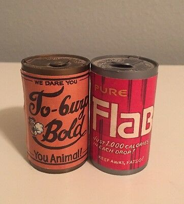 Vintage 1980 Chug-A-Can Candy Pure Flab & To Burp Bold!