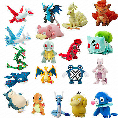 Pokemon Go Plush Soft Teddy Stuffed Dolls Kids Toy Combination Large
