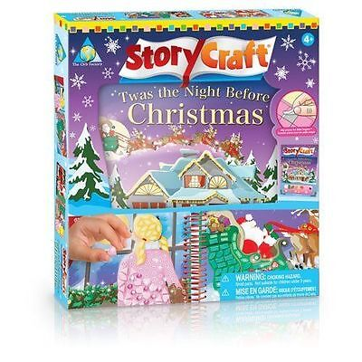 Story Craft Twas the Night Before Christmas Activity Book