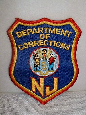 New Jersey Department Of Corrections Colorful Embroidered Patch - New & Unused