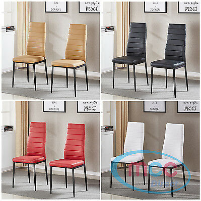 Faux Leather Dining Chairs Metal Chairs home & commercial restaurants