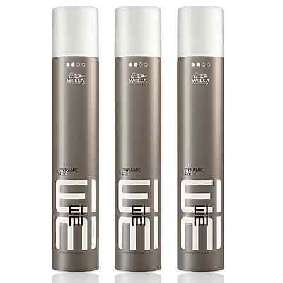 3x500ml Wella Professionals Eimi Dynamic Fix-45 Sek Haarspray Deutsche WareOVP
