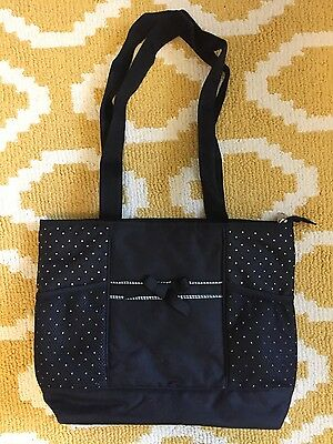 Pretty Baby Diaper Bag Nwot black with white polka dots