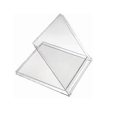 "1000x Clear CD Jewel Calendar Case 5.5"" Folds Back to a 45 Degree Angle"