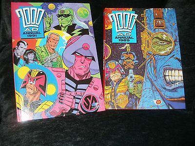 2000Ad Annuals 1989 And 1991