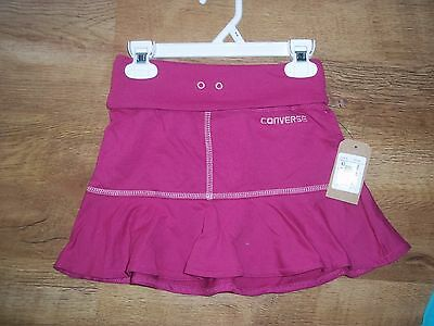 Girls Converse All Star Pink Skirt age 5-6 years brand new with tags xx