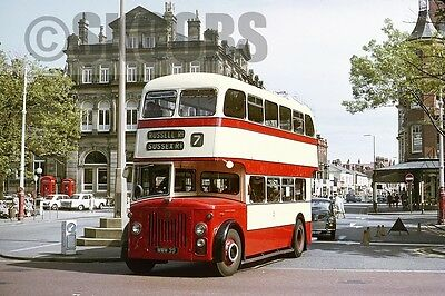 FOTO Southport Leyland PD2/20 39 MWM39 1968 in Town Centre