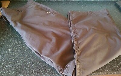 ladies size 20 regular Craghoppers walking casual trousers with zip off legs