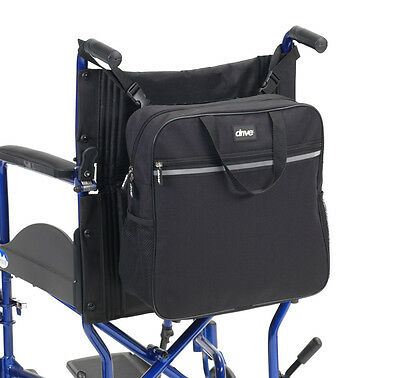 Drive Medical Waterproof Wheelchair Backpack Shopping Bag