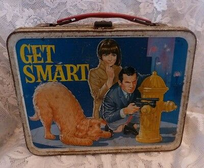 Vintage Metal Lunch Box 1966 Get Smart Lunchbox
