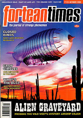 FORTEAN TIMES MAGAZINE ISSUE 115 October 1998