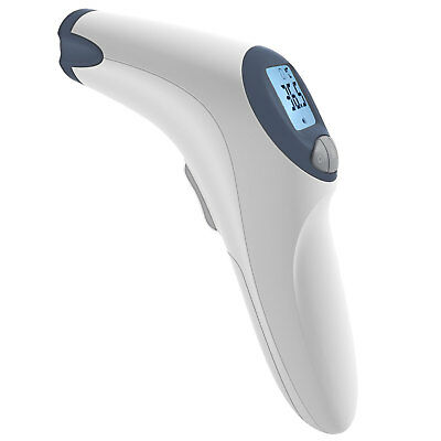 MeasuPro Non-Contact Forehead Thermometer w/ Fever Alert, Large LCD Display