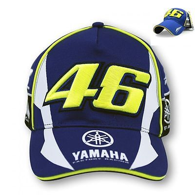 2 x 2016 OFFICIAL Valentino Rossi The Doctor Yamaha VR46 Moto GP Racing Cap/Hat