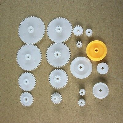 1Sets Plastic/Single Layer/Double/Spindle/CrownGear Pully 17Models Accessory DIY
