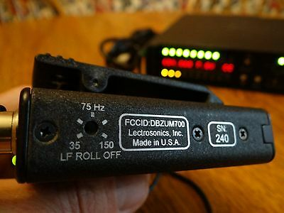 Lectrosonics TOP OF THE LINE Wireless Microphone System with Two Transmitters