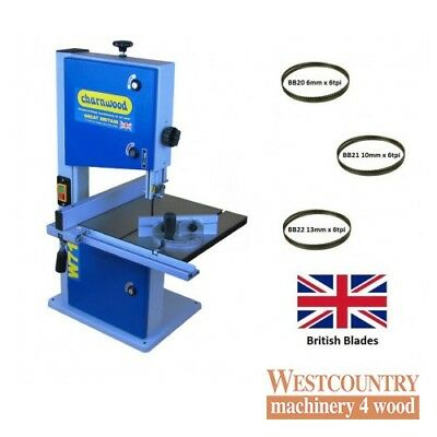 """Charnwood W715-PACK 10"""" Woodworking Bandsaw Package Deal"""