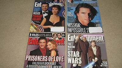 4 The X-Files Entertainment Weekly Magazines