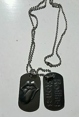 Rolling Stones dogtags