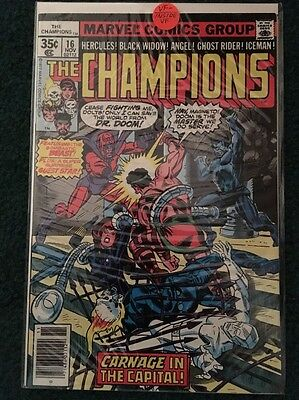 Champions Issue 16 From 1977 VF