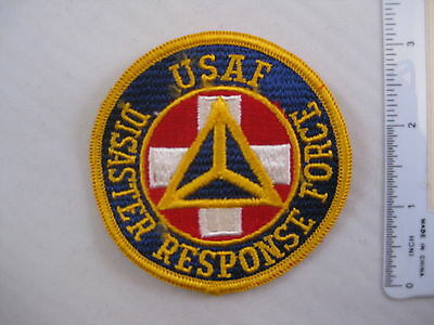 USAF DISASTER RESPONSE FORCE PATCH US Air Force