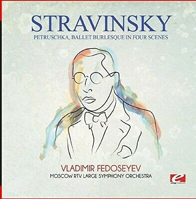 Petruschka Ballet Burlesque In Four Scenes - Stravinsky (2015, CD NEU)